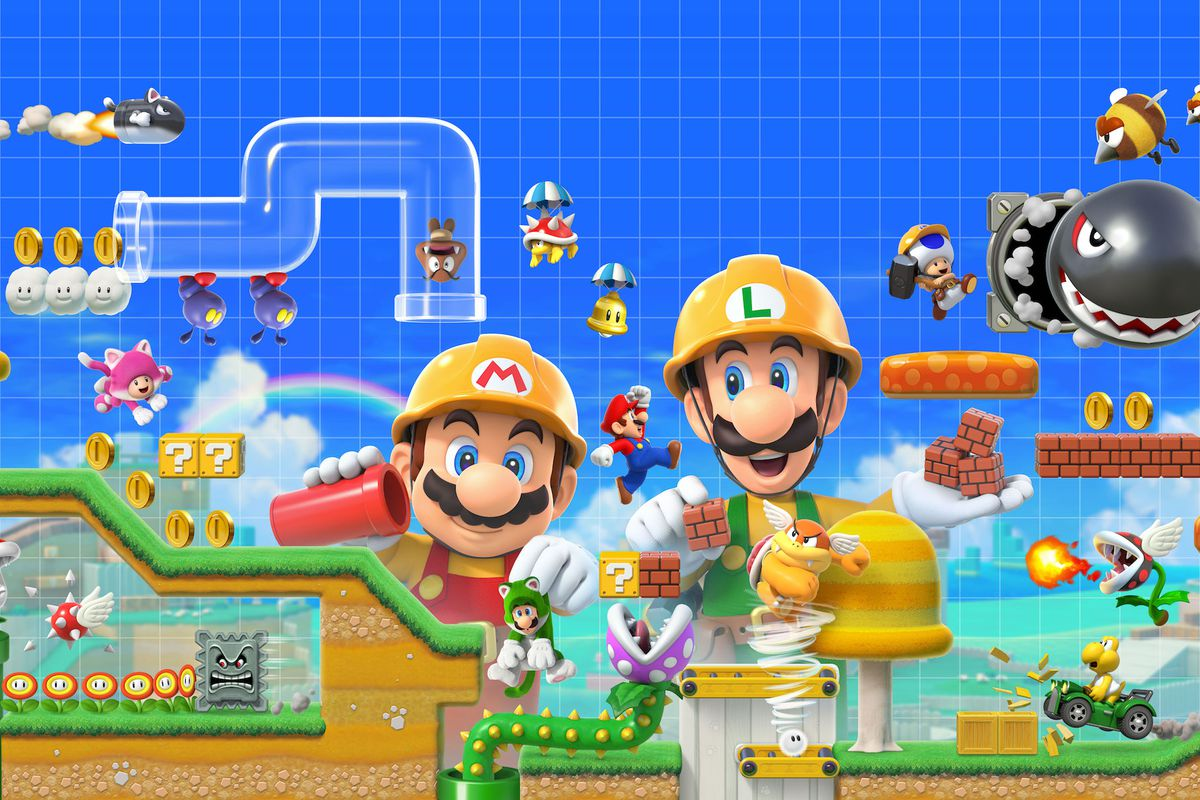 Super Mario Maker 2: New details revealed through poster