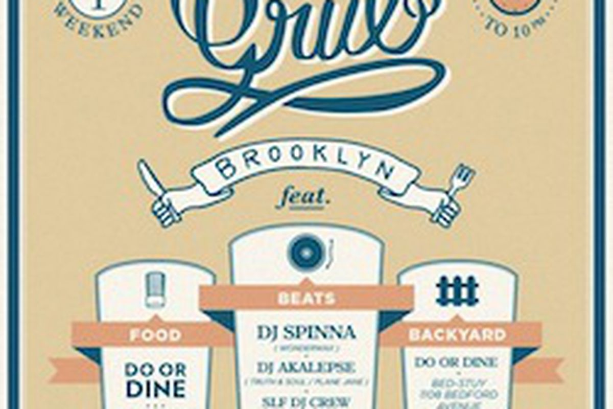 BED STUY Do Or Dine Is Hosting Another Rub A Grub Party This Labor Day Weekend The Backyard Involves Three Rounds Of Food Paired With Cocktails And