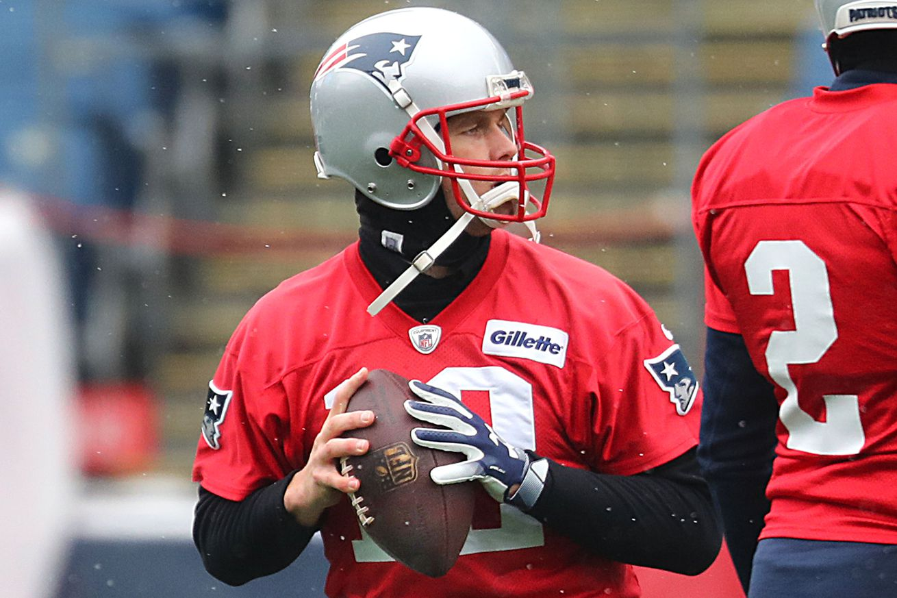Tom Brady listed as 'questionable' on Friday injury report
