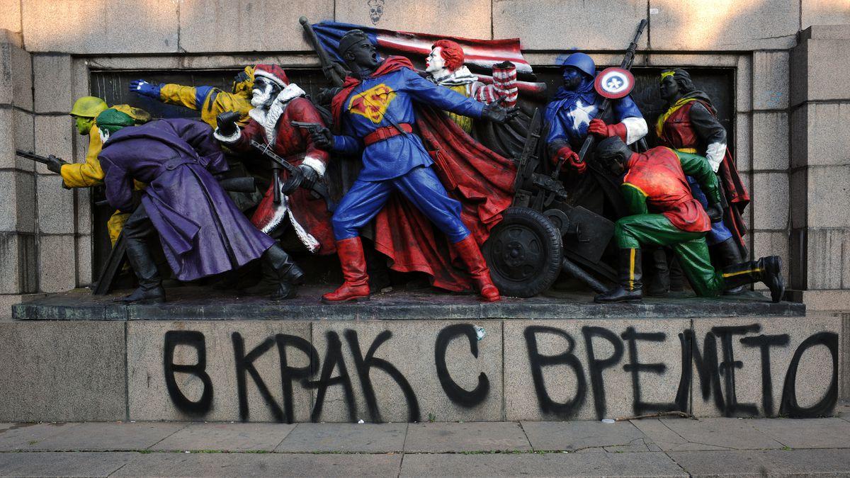 Superhero memorial