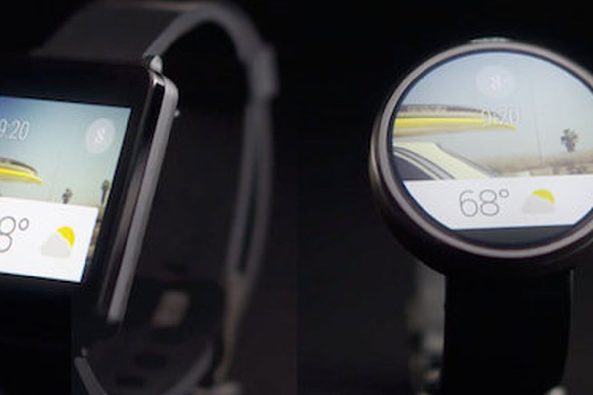 "Google's smartwatch design via <a href=""http://www.fastcodesign.com/3027846/google-just-revealed-the-first-usable-smartwatch-interface"">fastcodesign.com</a>"