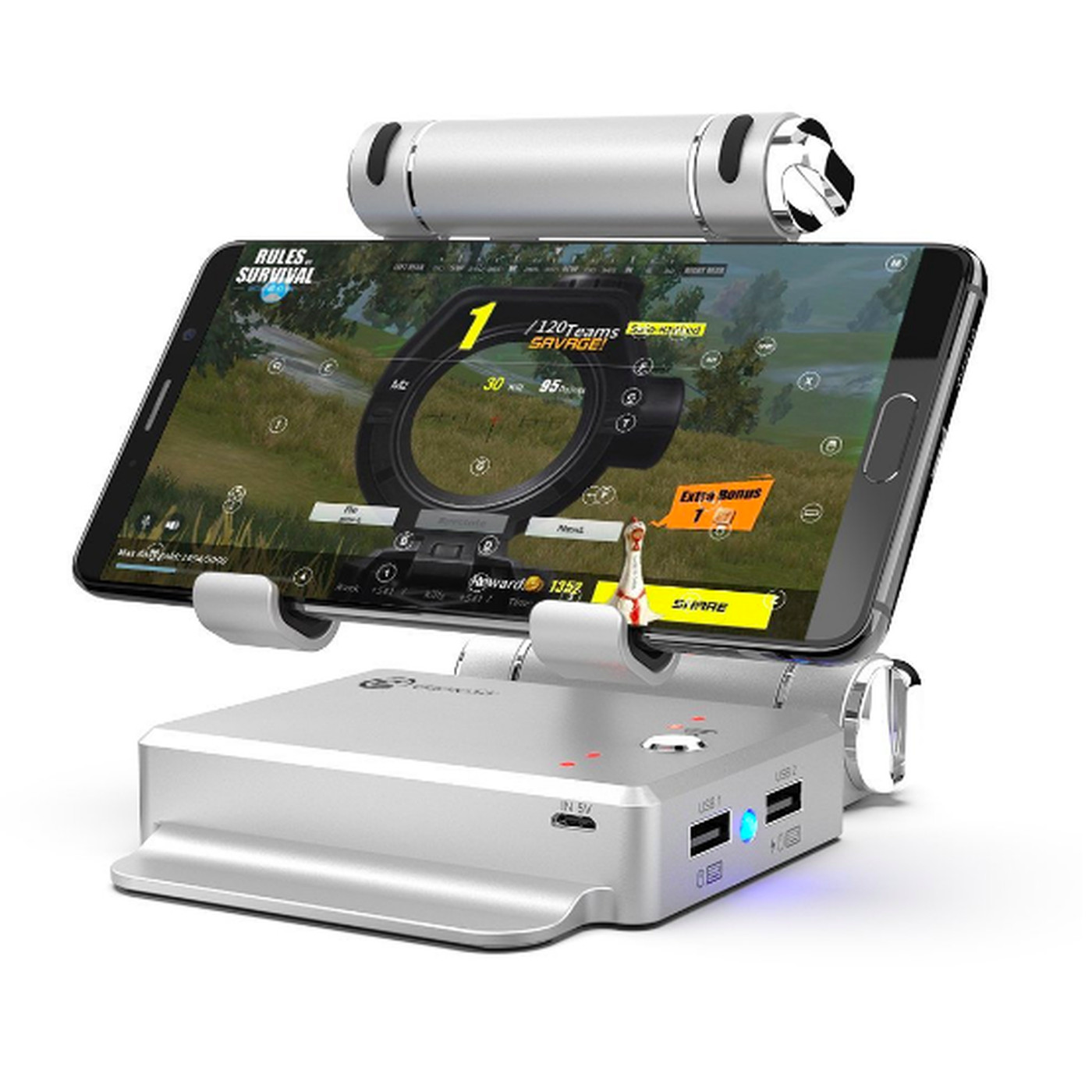 Stick to Fortnite on PC and consoles, this mobile dock isn't