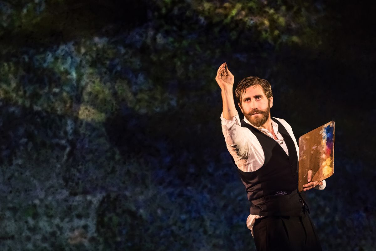 """Jake Gyllenhaal in """"Sunday in the Park with George"""""""