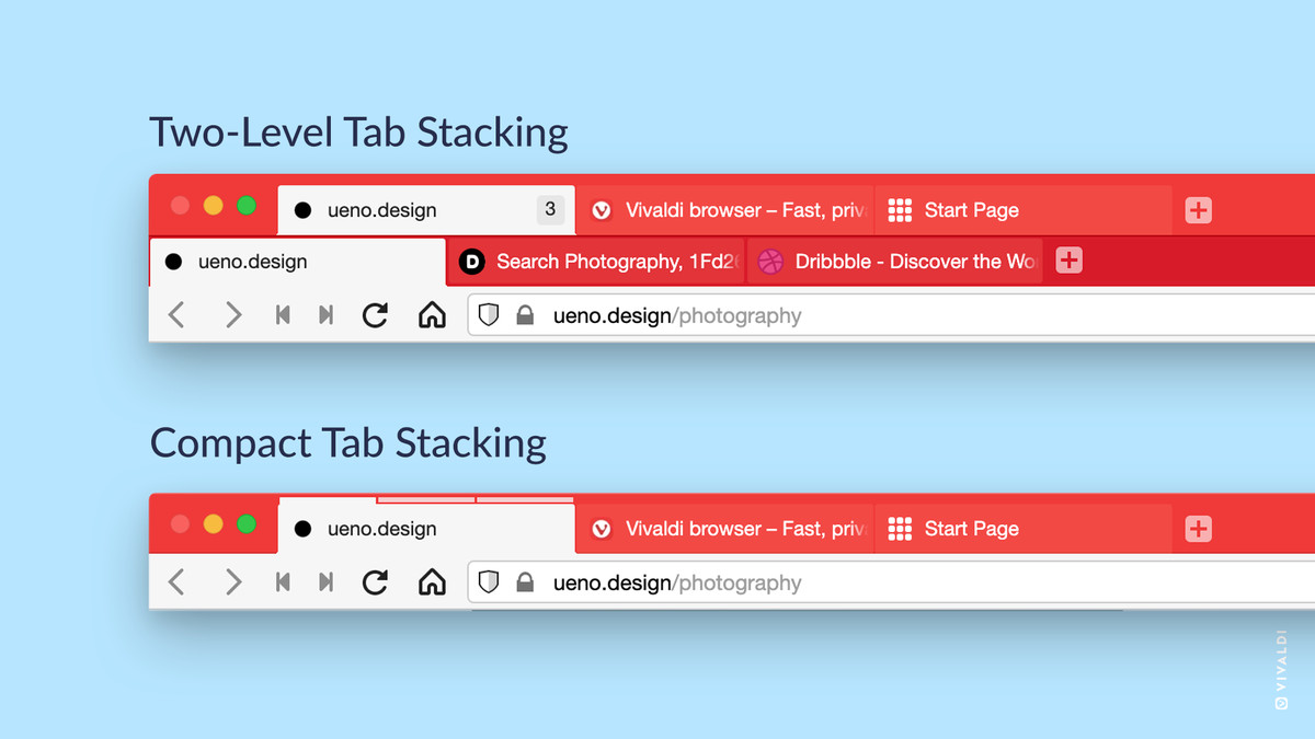 Double-decker browser tabs can be yours with Vivaldi 3.6 - The Verge