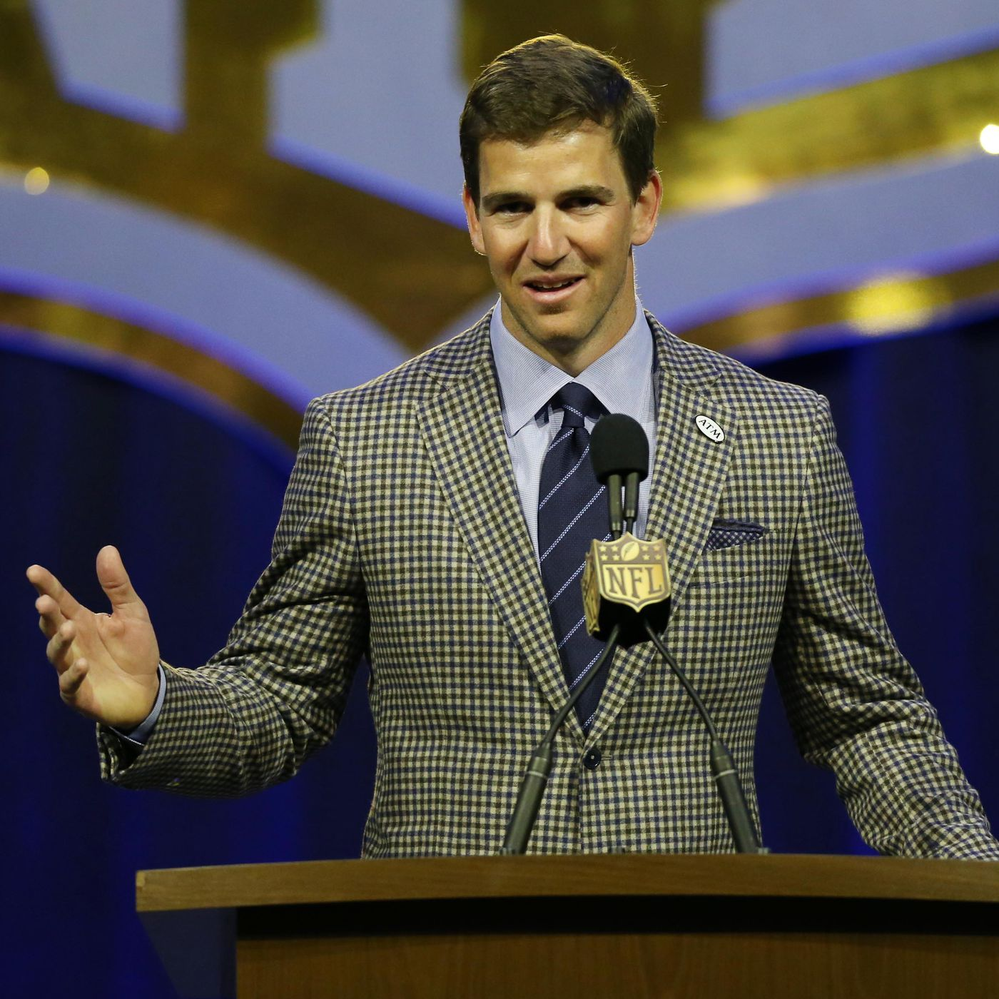 Eli Manning has a new teammate named Eli so he s open to going by