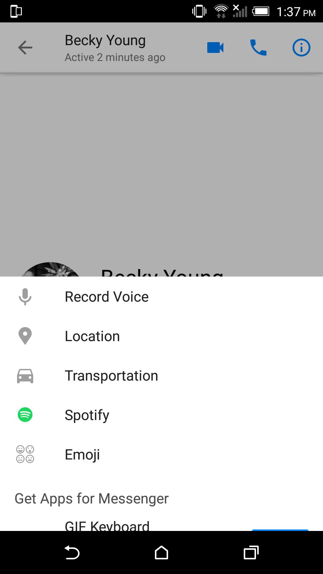 facebook messenger spotify integration screenshot-news-facebook