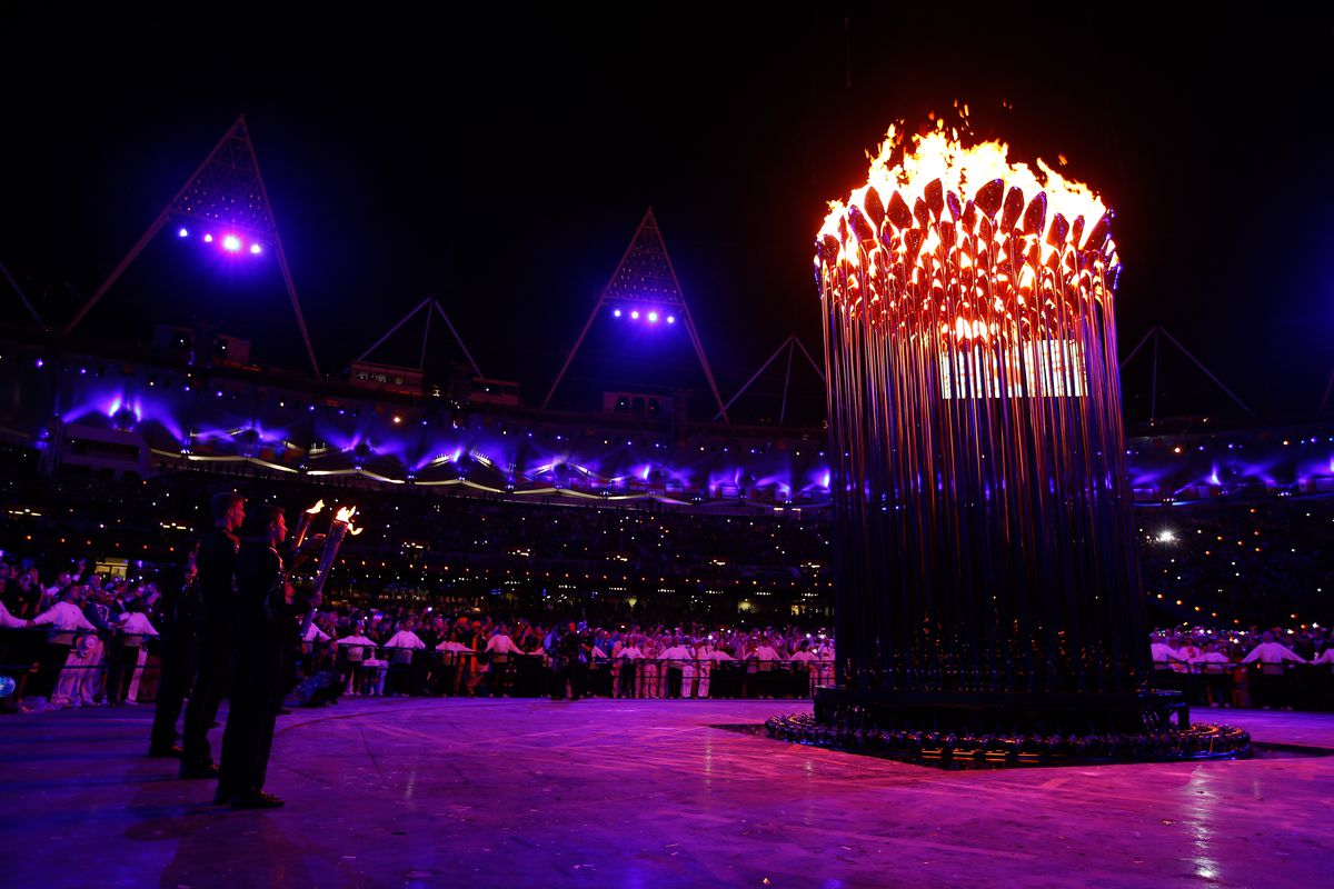 No we don't have a flame, but we wish we could (Photo by Pool/Getty Images)