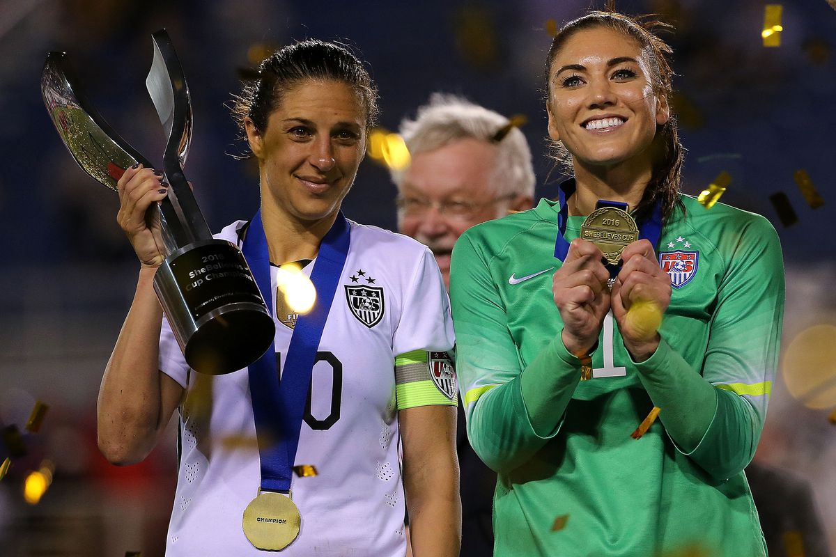 Five highly decorated US women's national soccer team players, including Carli Lloyd and Hope Solo, have filed a federal wage discrimination complaint.