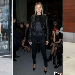 Whether she's in all black or head-to-toe red, Gigi loves to sport a single hue from top to bottom. No surprise there, considering that monochromatic dressing is one of her stylist Monica Rose's primary calling cards.