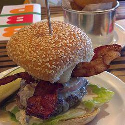 Bobby's Blue Burger.