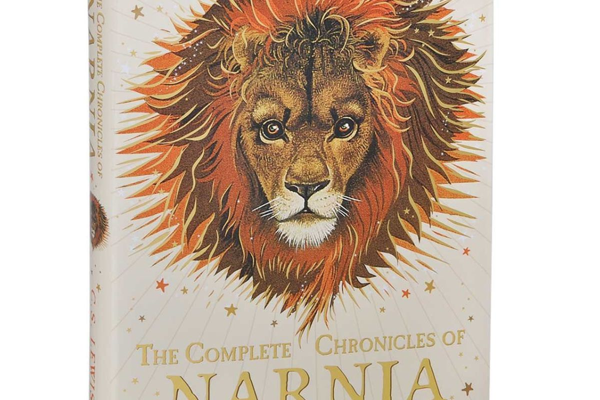 """Book cover of """"The Chronicles of Narnia"""""""