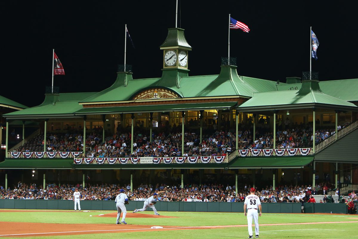 Baseball - MLB - Los Angeles Dodgers Vs. Arizona Diamondbacks - Opening Series Sydney