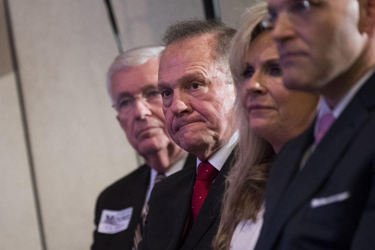 Church leaders who oppose Roy Moore hold rally