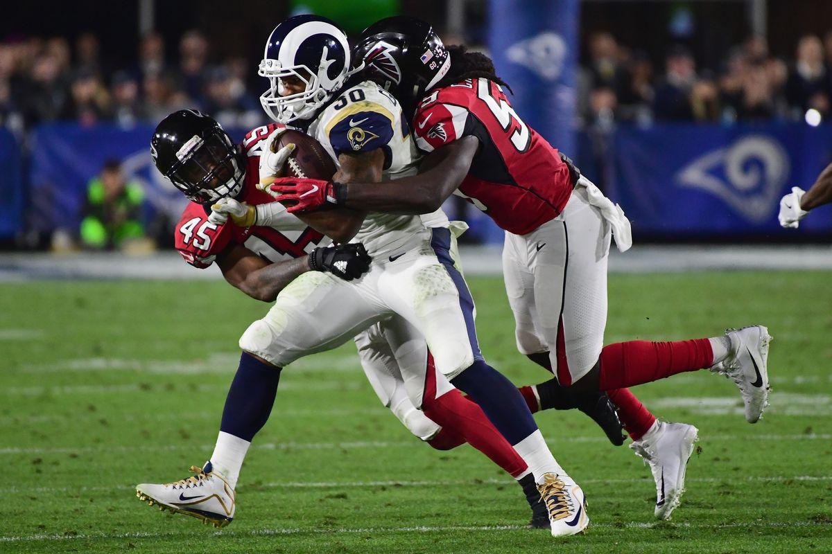 Wild Card Round - Atlanta Falcons v Los Angeles Rams