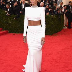Rihanna in Stella McCartney in 2014.