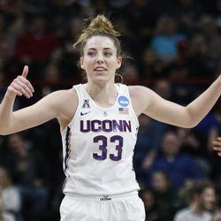 2018 NCAA Women's Basketball Tournament Elite 8 (South Carolina Gamecocks vs UConn Huskies)