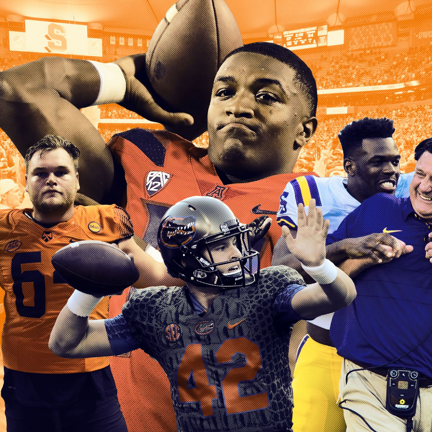 55384f6c337 Week 7 College Football Awards: Clemson and Other Top Programs Take a Tumble