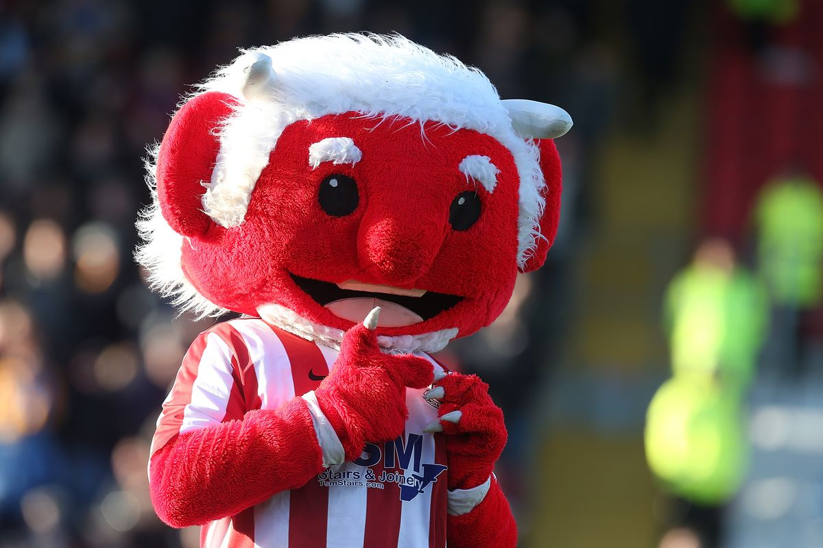 Lincoln City v Mansfield Town - FA Cup Second Round