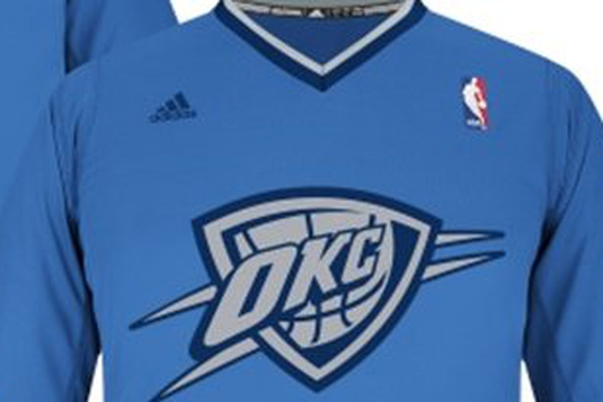 NBA Christmas Jerseys for 2013: Oklahoma City Thunder\'s Kevin Durant ...
