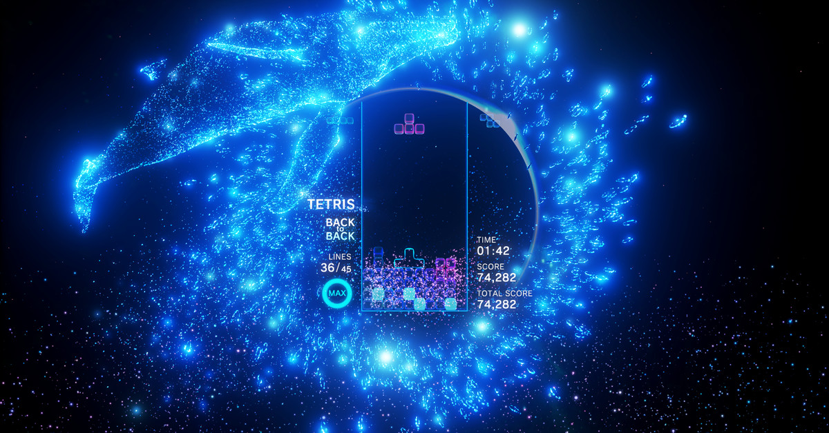 Tetris effect has been in development for 6 years polygon for Habitacion 3d after effects