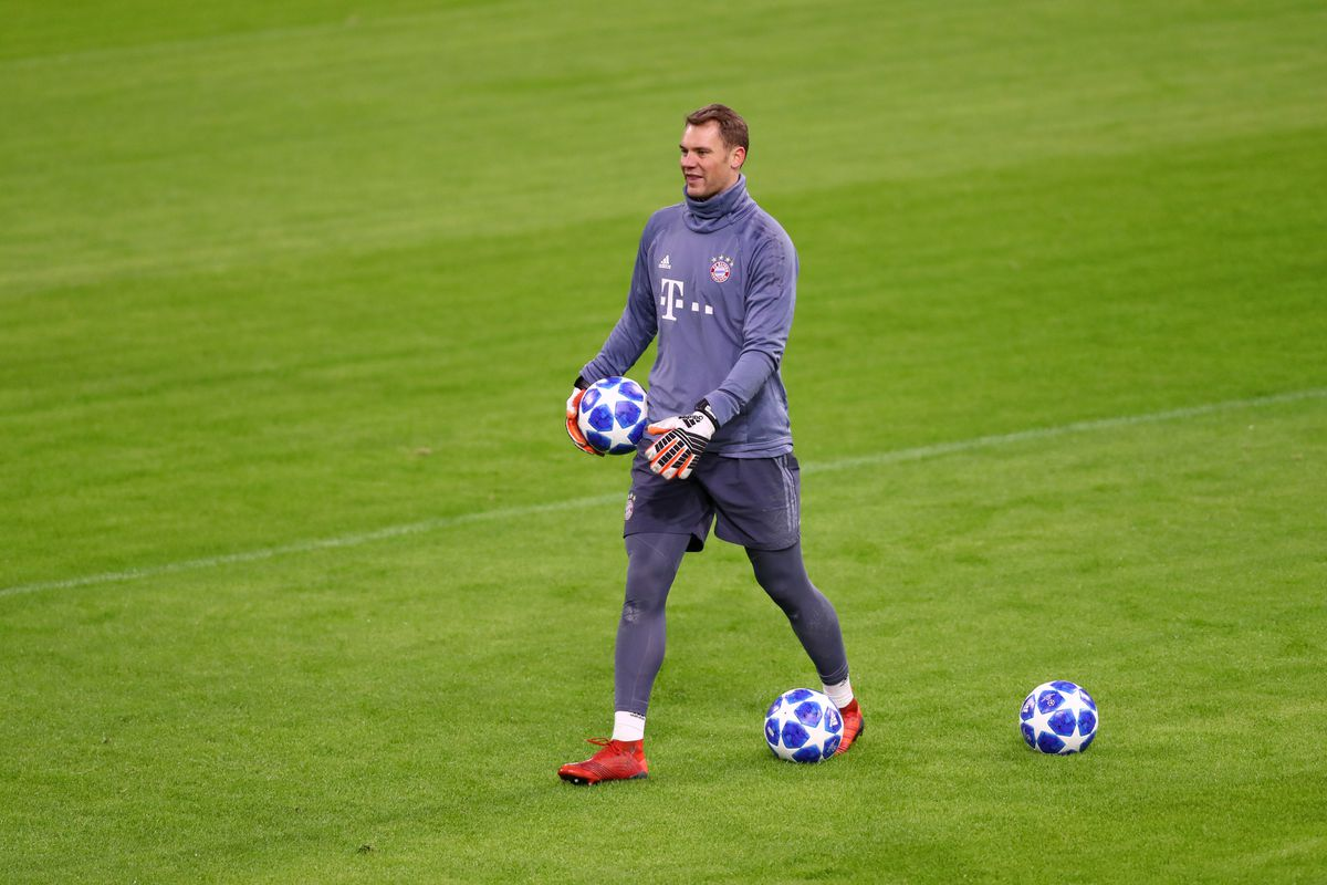 FC Bayern Muenchen - Training Session and Press Conference