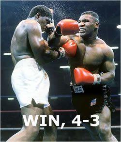 WIN, 4-3