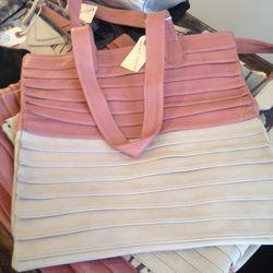 Collina Strada leather tote, $75