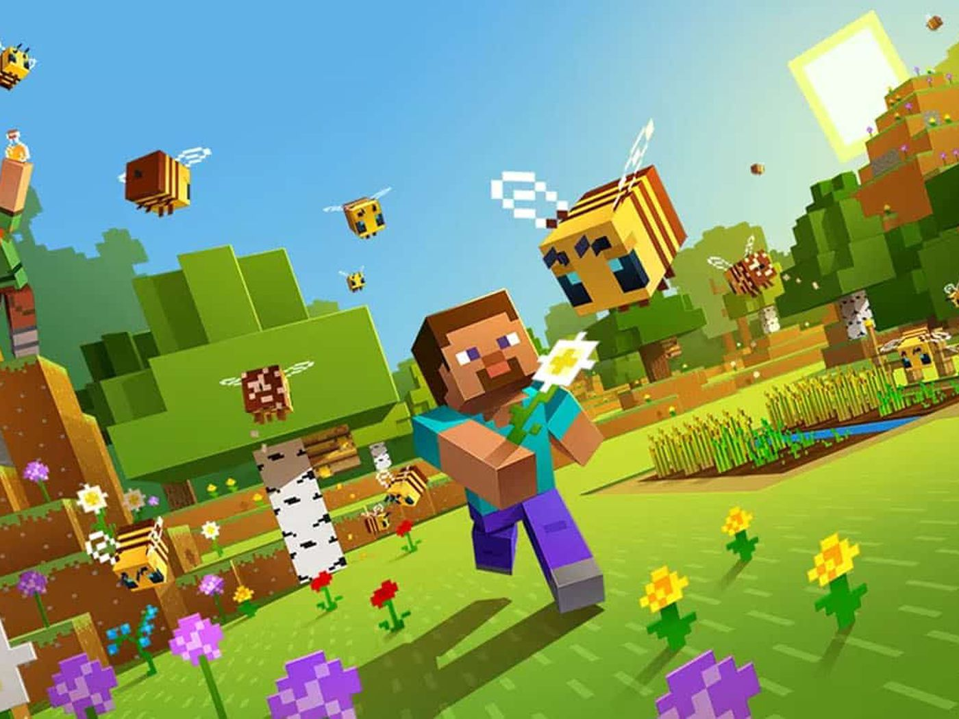 Minecraft is now available for PlayStation VR as a free update