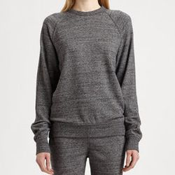 """<strong>T by Alexander Wang</strong> French Terry Sweatshirt, <a href=""""http://www.saksfifthavenue.com/main/ProductDetail.jsp?PRODUCT%3C%3Eprd_id=845524446592966&R=887032183914&P_name=T+by+Alexander+Wang&sid=13FA0731356A&Ntt=alexander+wang+sweatshirt&N=0&b"""