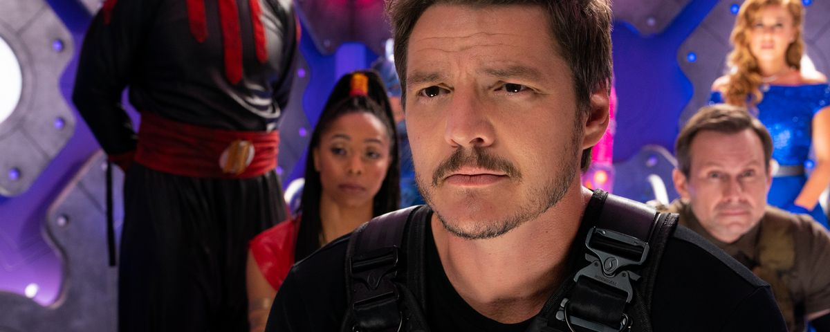 pedro pascal and a group in we can be heroes