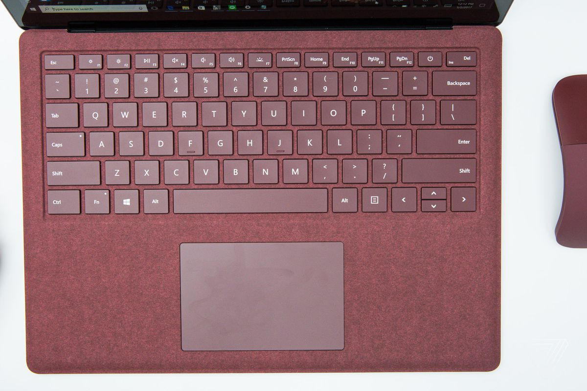 5bdef15ae4c Microsoft says the fabric on the Surface Laptop should be cared for like a  'luxury' handbag