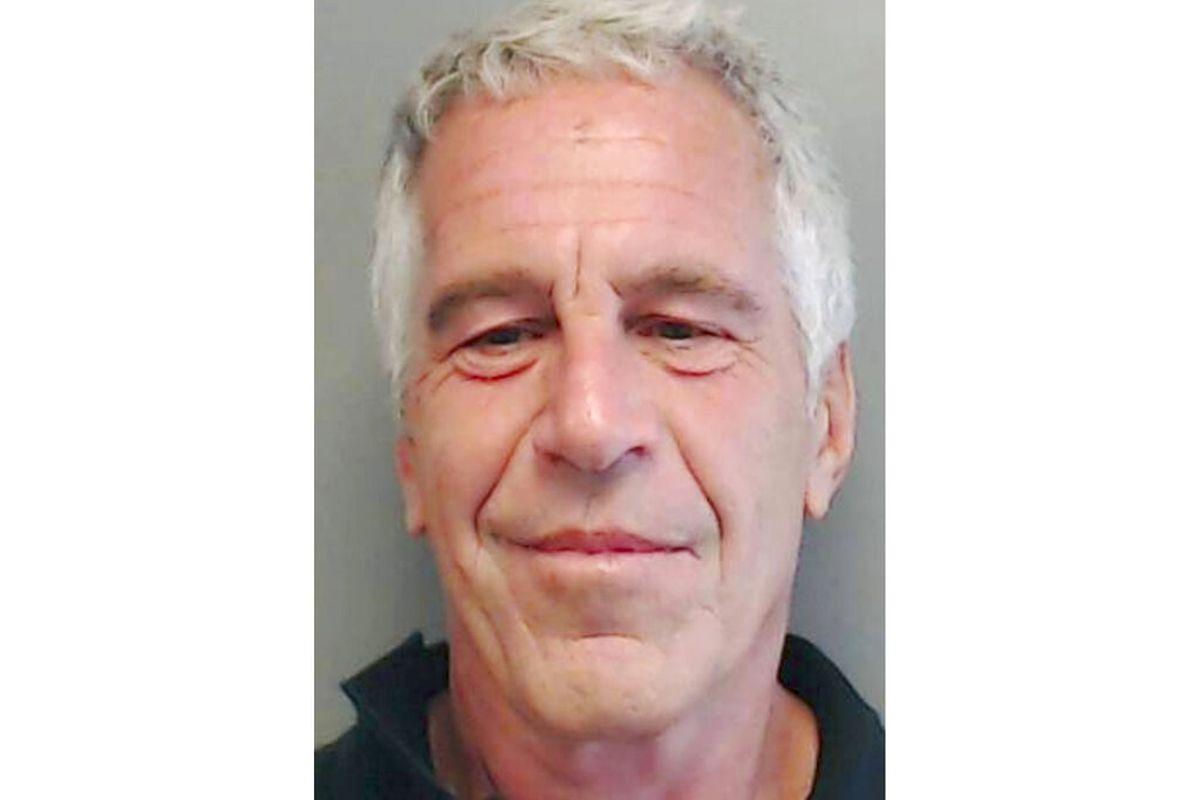 Jeffrey Epstein mug shot
