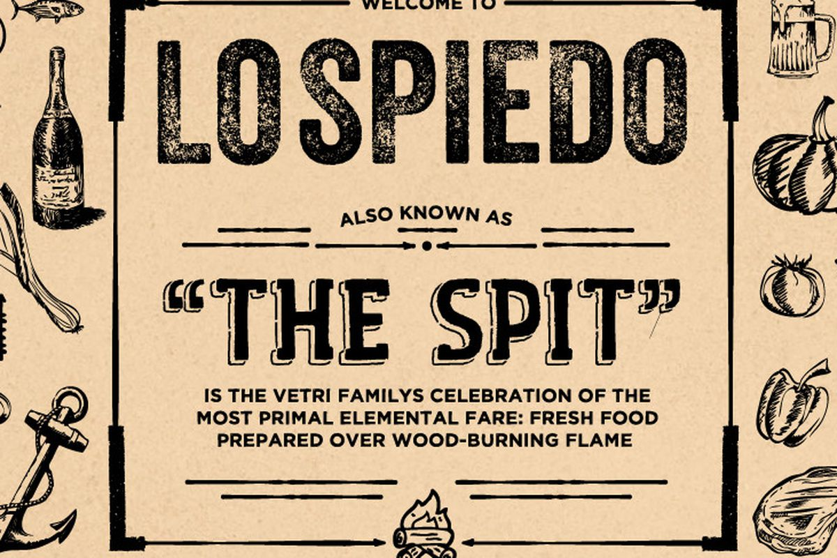 The placeholder image from Lo Spiedo's website.