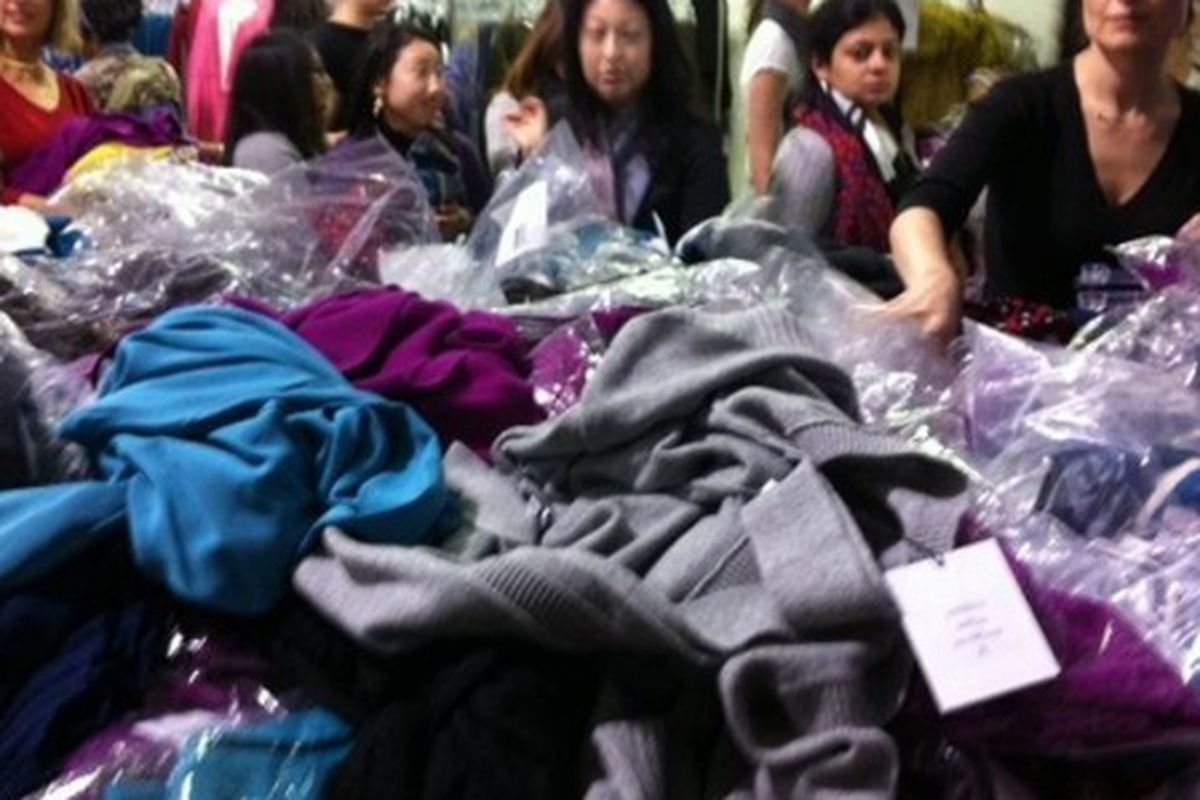 The most recent DVF sample sale