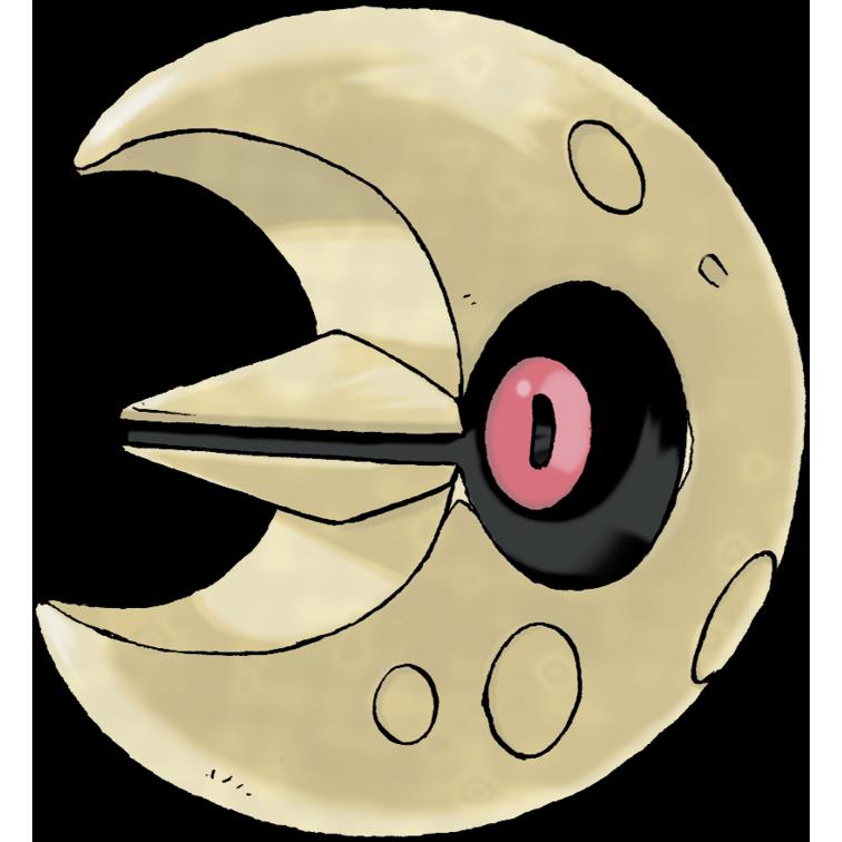 Lunatone is exclusive to Pokémon Shield