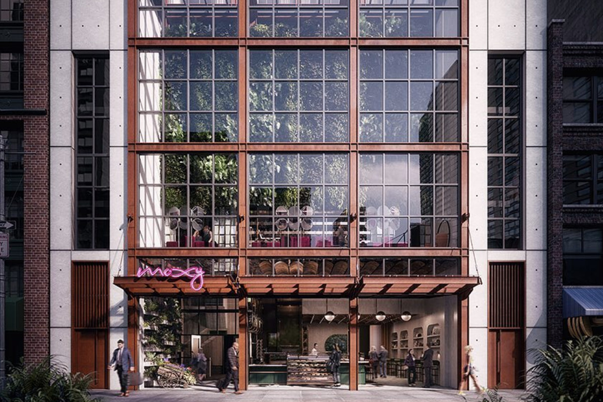 Feroce Restaurant Is A Collaboration With The Antica Pesa Team In Moxy Chelsea Hotel