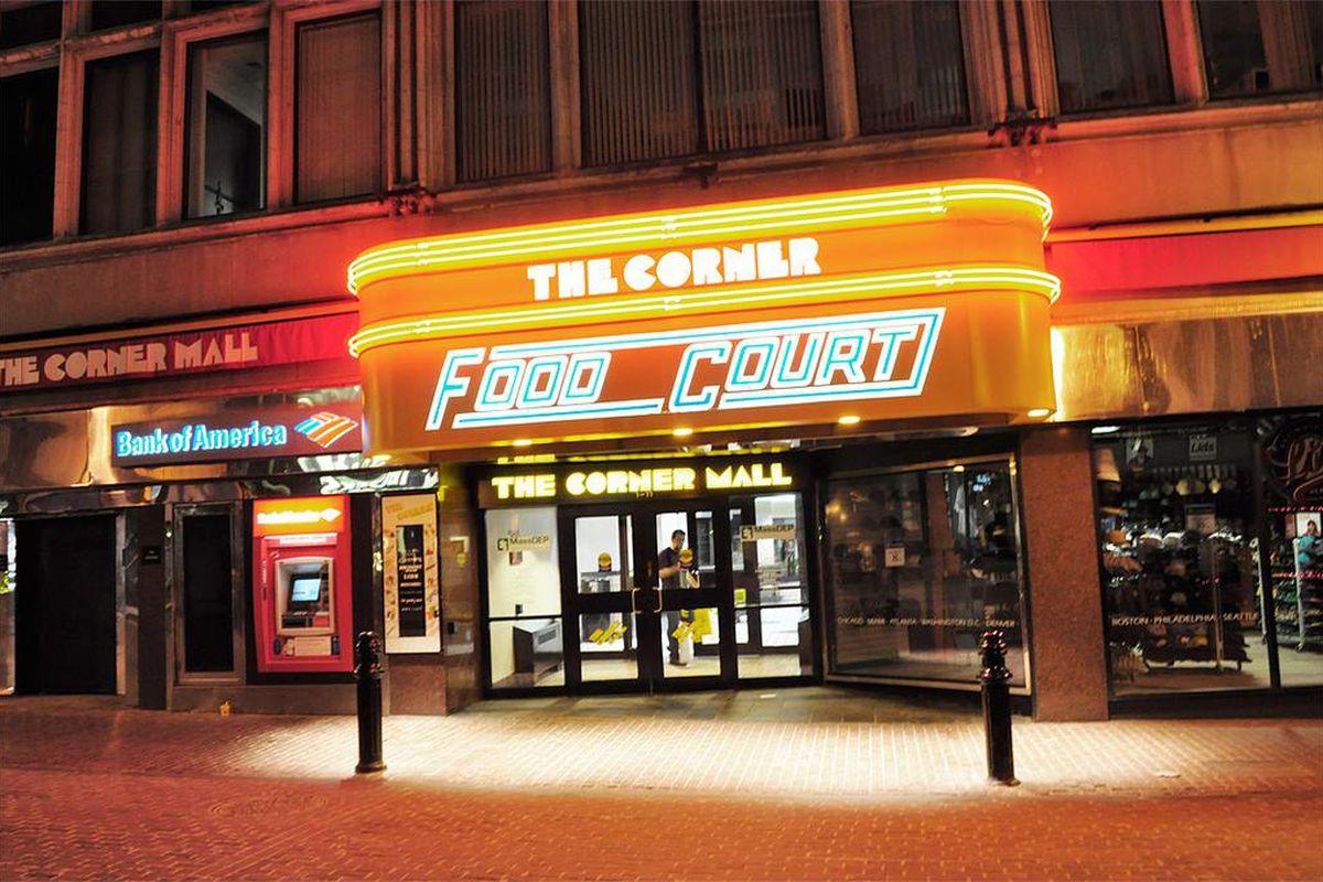 The Corner Mall food court