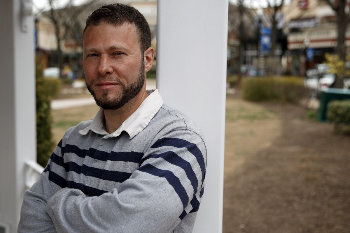 Ismail Royer, who served more than 13 years in prison for aiding terrorists, researches and writes for the Religious Freedom Institute's Islam and Religious Freedom Action Team. (AP Photo/Alex Brandon)
