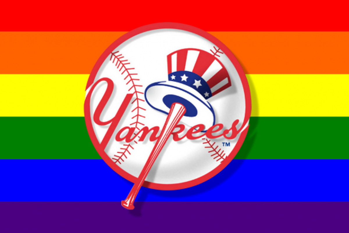 the best attitude c47a2 e6bf5 Play ball! All but 2 MLB teams are hosting pride events this ...