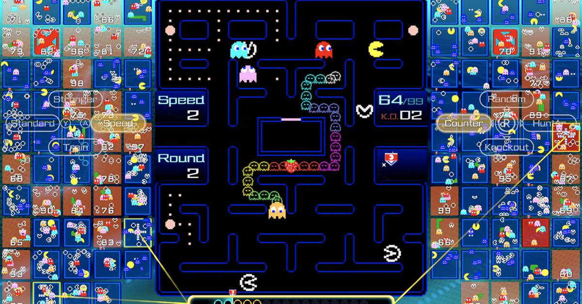 Pac-Man 99 is a new battle royale game for the Switch thumbnail
