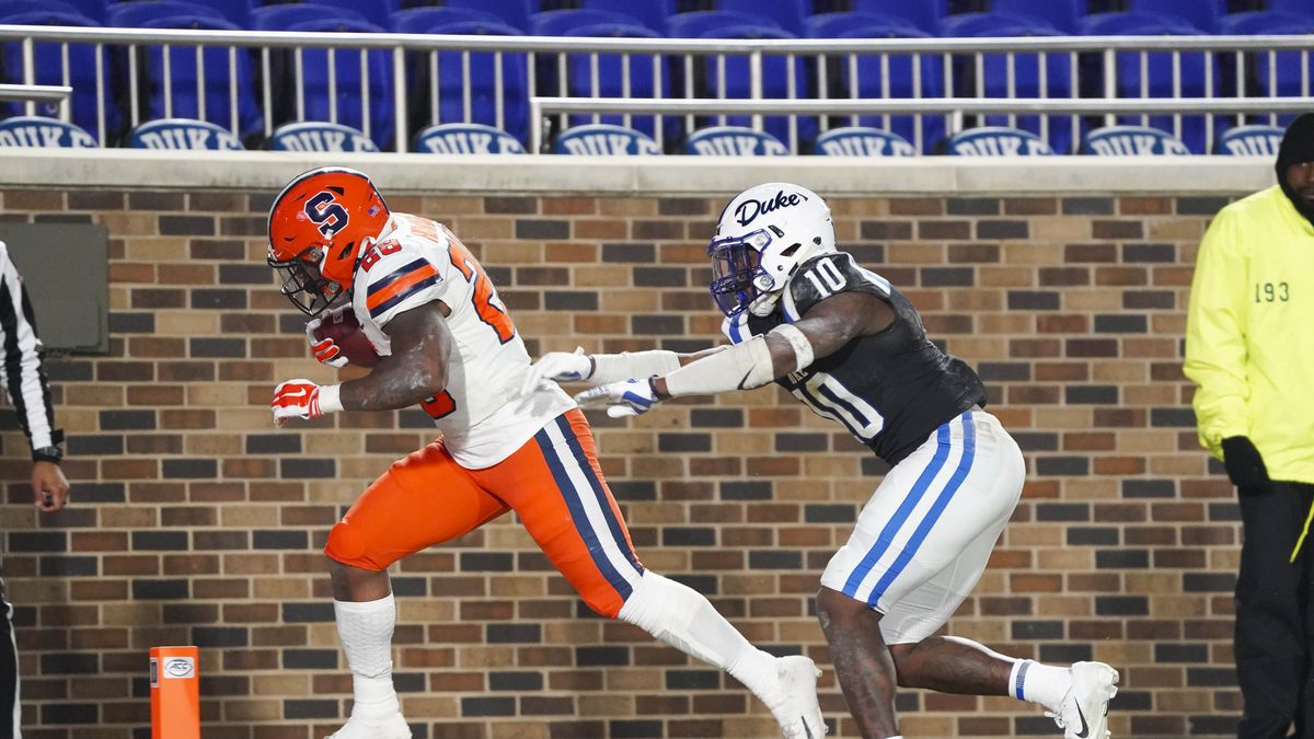 NCAA Football: Syracuse at Duke