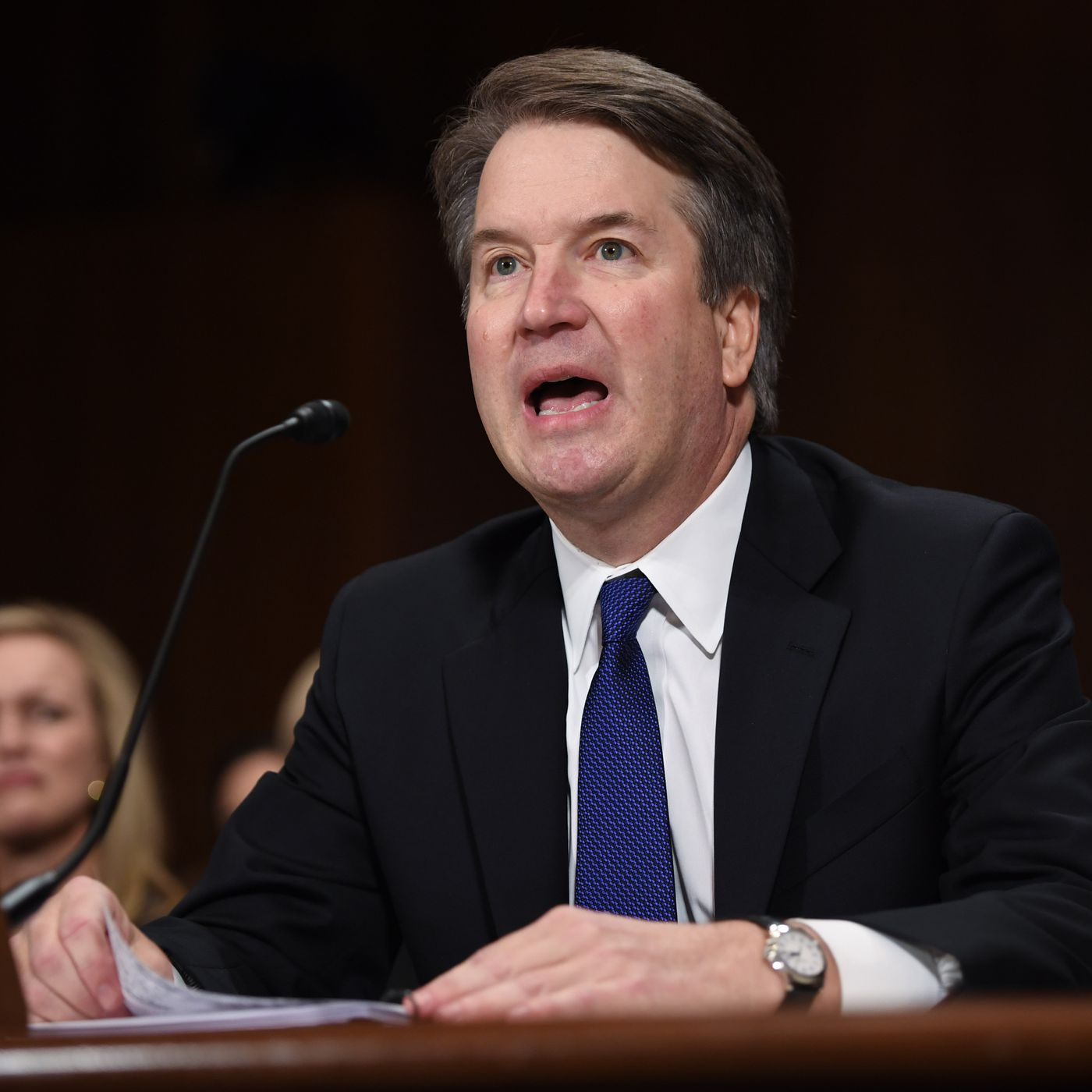 Read Brett Kavanaughs Angry Emotional Opening Statement Vox