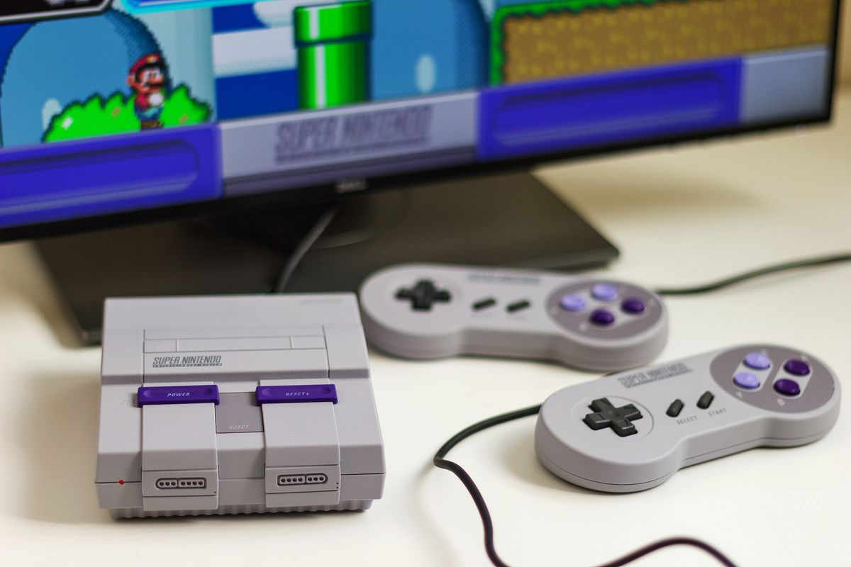 super nintendo classic edition review the perfect way to play 16 bit classics the verge. Black Bedroom Furniture Sets. Home Design Ideas