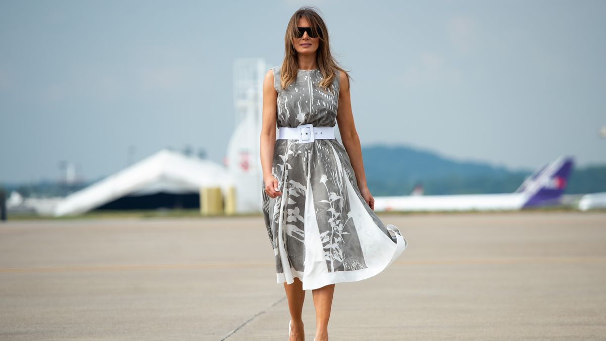 cdb2a25db First lady Melania Trump in Nashville on July 24, 2018. Photo: Saul  Loeb/AFP/Getty Images