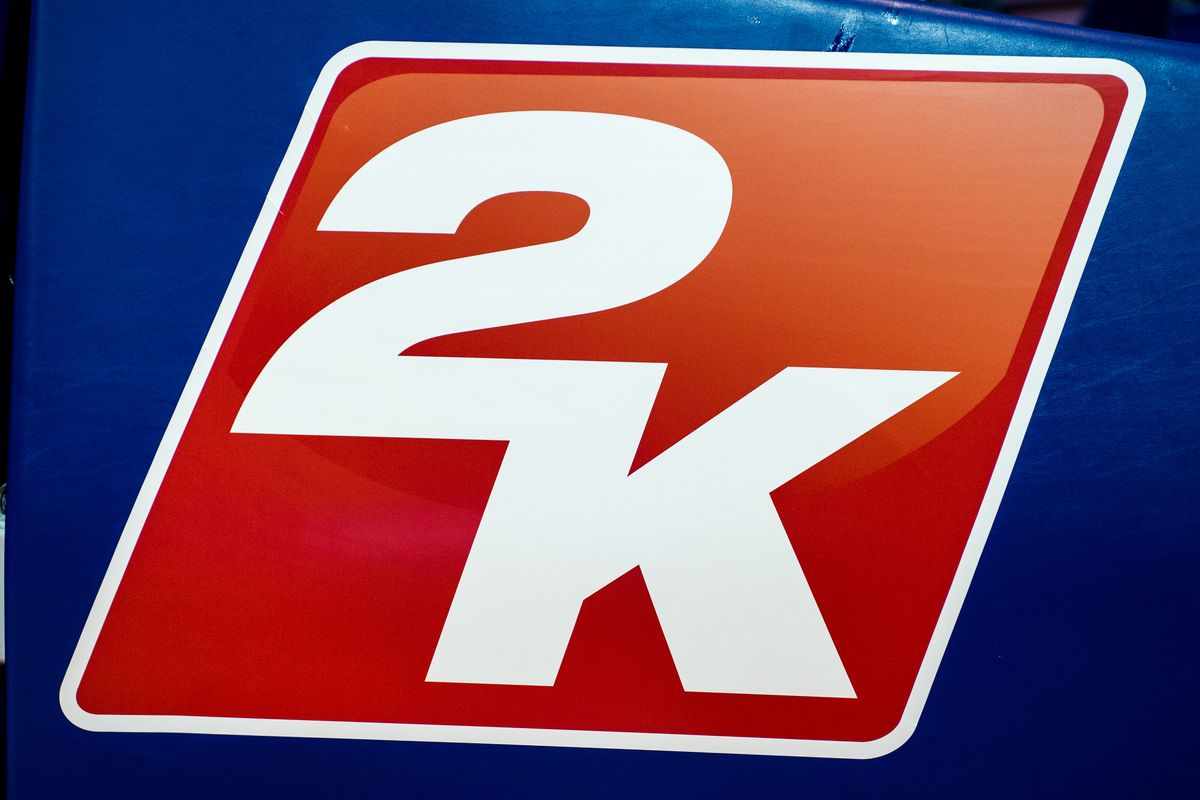 Photograph of the 2K Games logo
