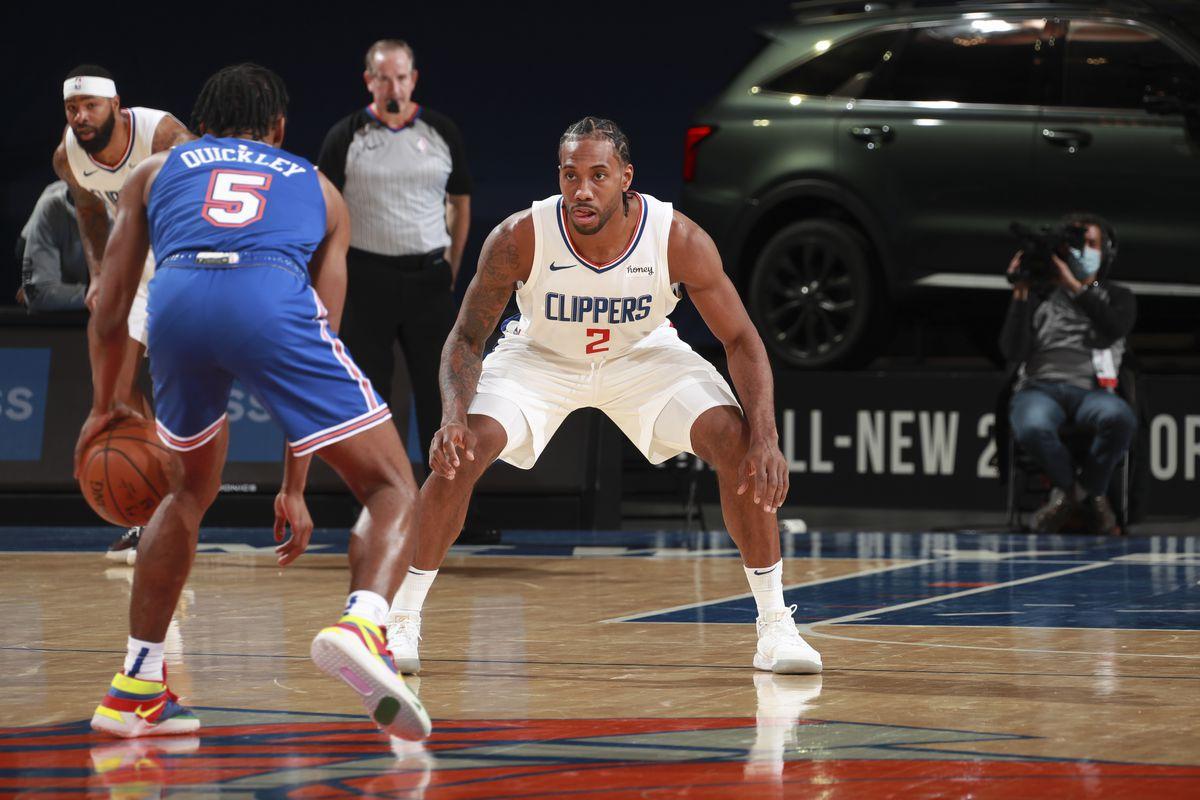 LA Clippers v New York Knicks