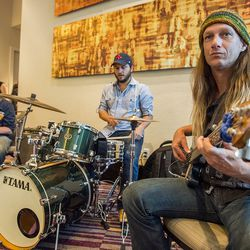 The Charlie Wooton Project plays during Sunday brunch.