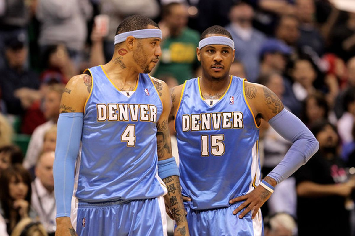 Have Kenyon Martin and Carmelo Anthony reached their peak in Denver?