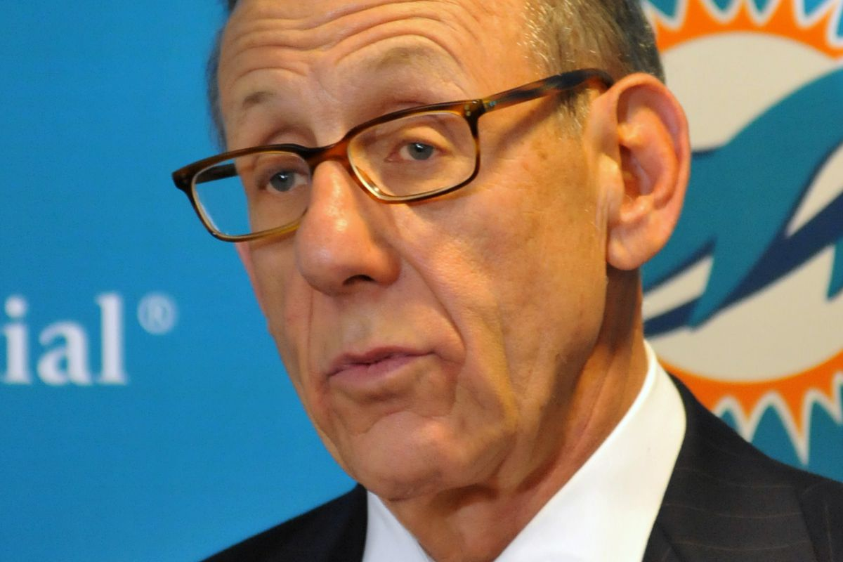 Miami Dolphins owner Stephen Ross won't tolerate slurs or disrespect on his team.