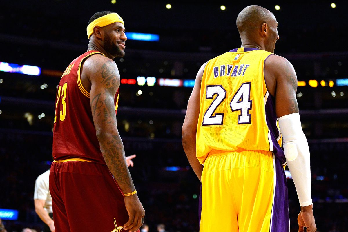 Image result for kobe lebron james